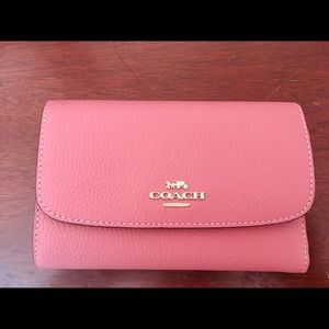 Coach leather wallet like new